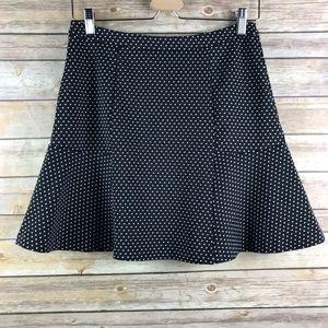 Michael Kors Polka Dot Skater Skirt (SK122)